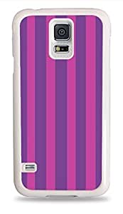 CSKFUPopular Mad Stripes White Hardshell Phone Case for Samsung Galaxy S5
