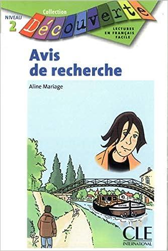 Avis De Recherche Collection Decouverte Niveau 2 French