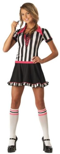 Racy Referee Costume - Teen Medium ()