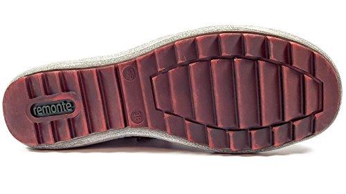 Mode Baskets Rouge Femme Non R1474 Rouge Amovible Semelle Remonte q58Extx