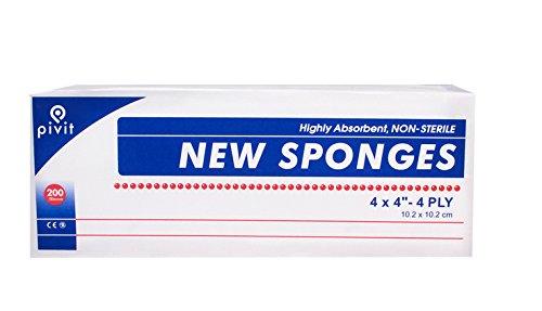 Pivit Non-Sterile Super Gauze Sponges   4