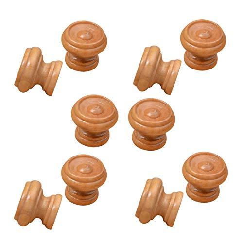 Autoly Kitchen Cabinet Knobs Wood Drawer Furniture Hardware Round Pull Knob, 1