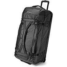Eddie Bauer Unisex-Adult Expedition Drop Bottom Rolling Duffel - Extra Large, Bl