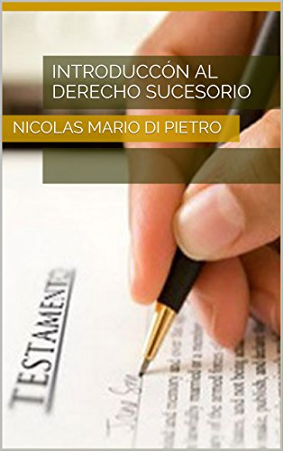 Introduccón al Derecho Sucesorio  PDF