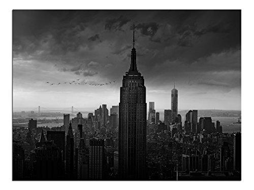 JP London Solvent Free Poster Art Print PAPL1X798794 New York Rockefeller View Black White Modern Ready to Frame Wall 40