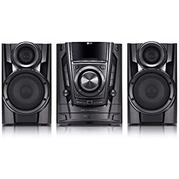 Amazon Com Lg Cm3370 200w Hi Fi Shelf System With 3 Cd