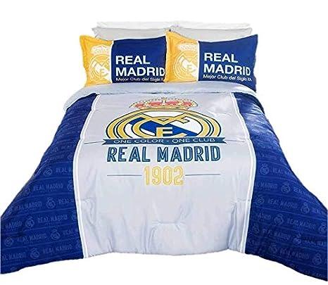 Amazon.com: Comforter España Real Madrid – Set completo 7 ...