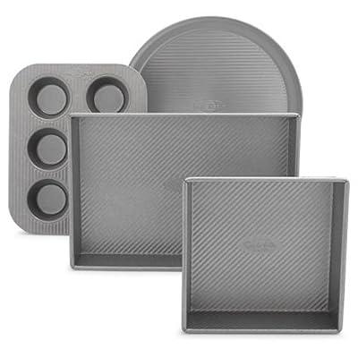 Sur La Table Platinum Professional Toaster Oven 4-Piece Pan Set 21325ST