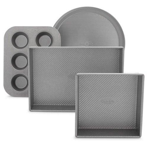- Sur La Table Platinum Professional Toaster Oven 4-Piece Pan Set 21325ST