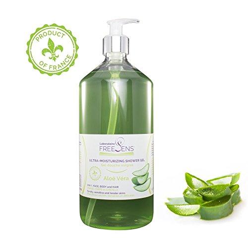 Ultra-Moisturizing Shower Gel - Aloe Vera - Made in France - 33.8oz ()