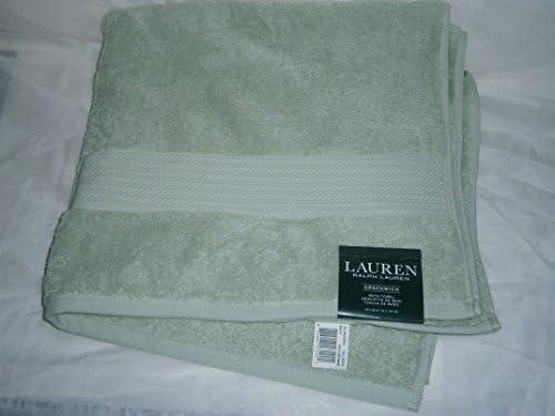 Ralph Lauren - Toalla de baño (56 x 30 cm), color verde: Amazon.es ...