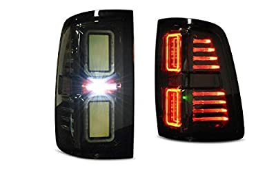 Morimoto XB Plug & Play LED Smoked Tail Lights Compatible with 2009-2019 Dodge Ram 1500 2500 3500