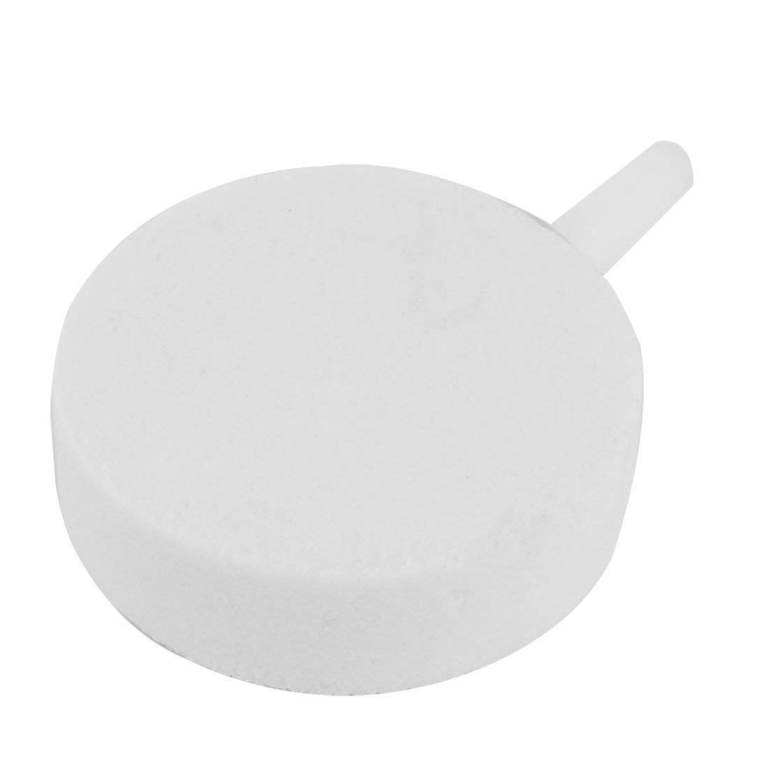 1Pc Mineral Aquarium Tank Bubble Release Airstone Air Stone 3mm Inlet Hole White