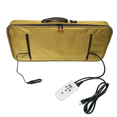 Goodtar Portable Massage Stone Warmer Electric Spa Bamboo Massage Heater Professional Portable Salon Case without Bamboo Sticks and without Stones.