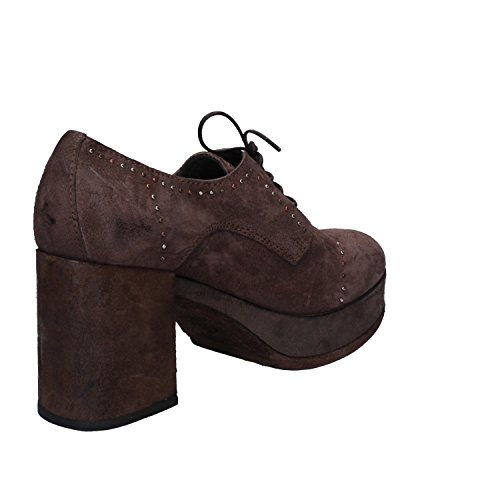 Ankle Brown 37 MOMA Boots EU Suede Womens vnpA8q
