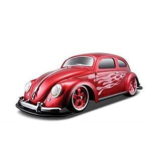 Maisto R/C 1:10 Scale 1951 Volkswagen Beetle Radio Control Vehicle (Colors May Vary)