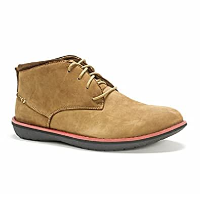 MUK LUKS Men's Charlie Shoes Fashion Sneaker, Tan, 12 M US