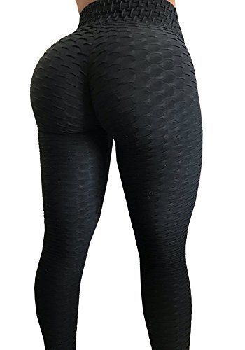 Control Top Pant - Meilidress Womens Ruched Butt Lifting Leggings High Waisted Grain Sport Tummy Control Gym Yoga Pants