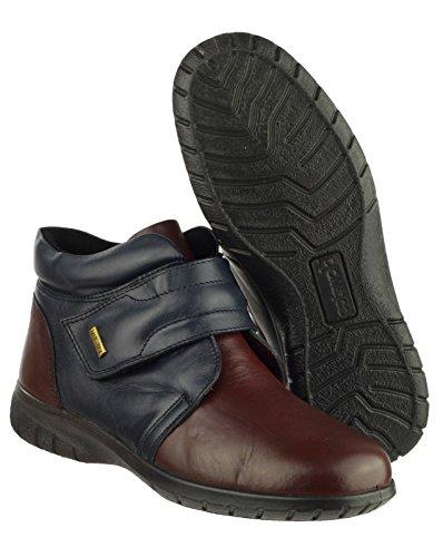 Cotswold Damen Schuhe Chalford Marineblau/Bordo