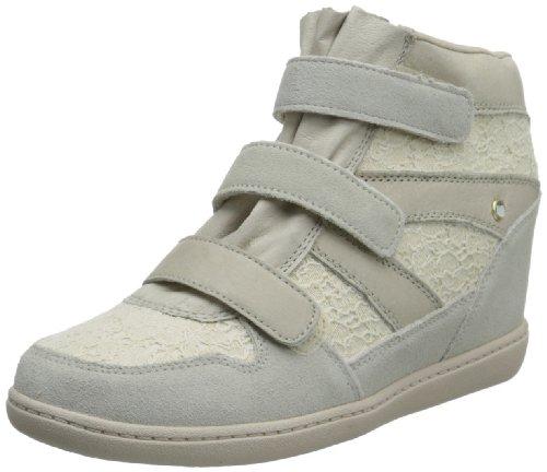 Skechers USA Women's Plus 3-Peony Fashion Sneaker,Natural,9 M US