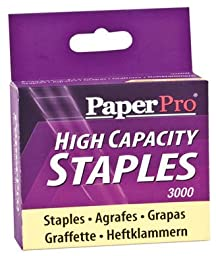 Wholesale CASE of 25 - Accentra PaperPro High-Capacity Staples-Staples, 65 Sht Capacity,3/8\