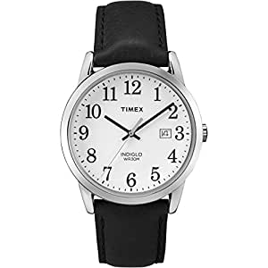 Timex Unisex Easy Reader, Black, 38 mm