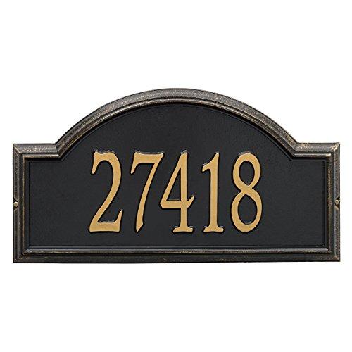 Custom Providence Arch Estate WALL Address Plaque 1 Line 23