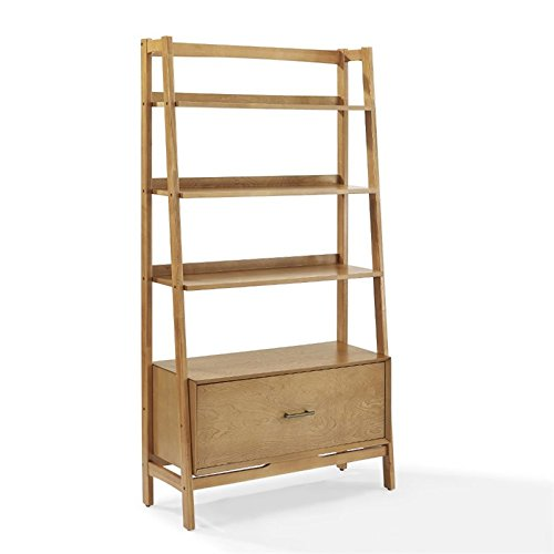 Crosley Furniture Landon Large Etagere Bookcase - - Etagere Large