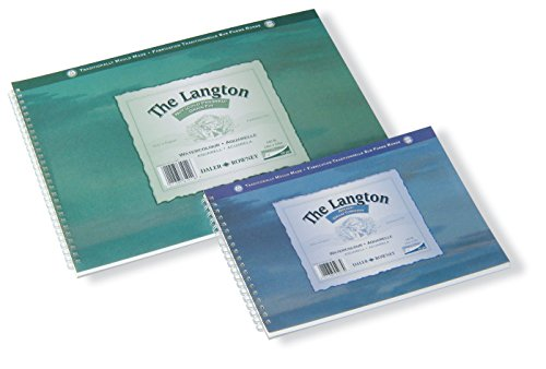 "Price comparison product image Daler Rowney Langton Prestige 140lb Spiral Watercolour Pad - 10 x 7"" [Toy]"