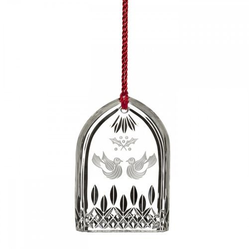 Waterford 12 Days Of Christmas 2015 Lismore Two Turtle Doves Ornament (Waterford Crystal 12 Days Of Christmas Ornaments)