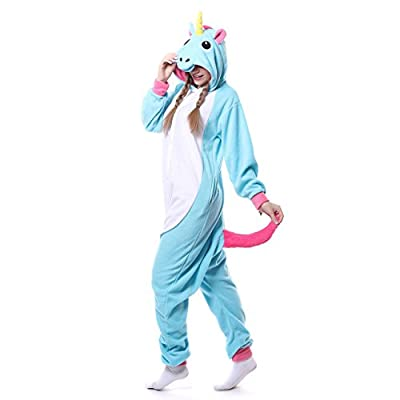 Adult Animal Kigurumi Unicorn Cosplay Costume Pajamas
