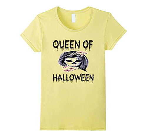 Womens Scary Halloween T-Shirt - Halloween Costume Party Gift Idea Small (Halloween Costumes Ideas For Women Scary)