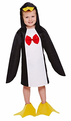 GUBA Little Girls' Penguin Fancy Dress World Book Day Party Costume Toddler 2-4 Years Penguin