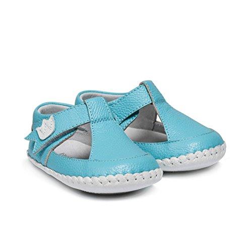 Petit Agneau Bleu - Chaussures En Plastique Pour Un Enfant, Orange, Taille 24