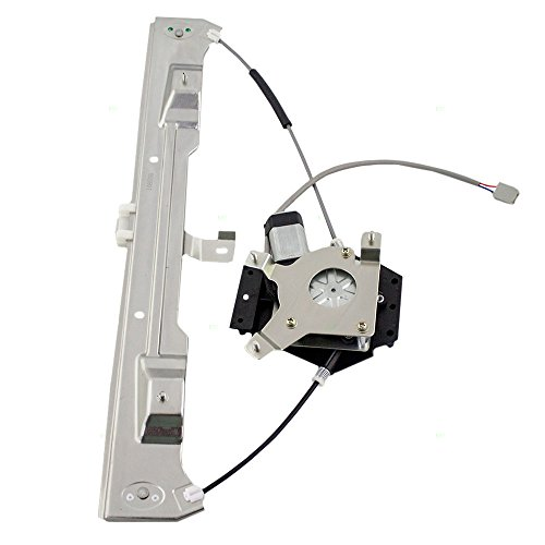 Drivers Rear Power Window Lift Regulator & Motor Assembly Replacement for Mercury Ford Lincoln Pickup 6L2Z7827001BA