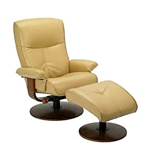 Amazon Com Nexus Butter Yellow Dura Leather Recliner And