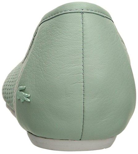 Lacoste Womens Cessole 216 1 Ballet Flat Light Green uVBWkC
