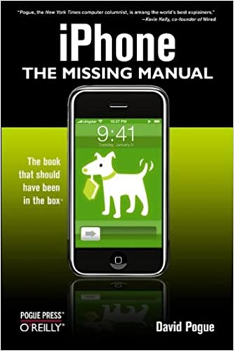 Iphone the missing manual david pogue 9780596513740 amazon iphone the missing manual 1st edition fandeluxe Choice Image