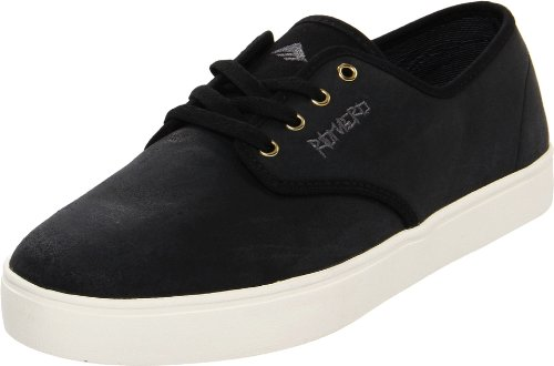 Zapatillas Emerica Para Hombre Lol Leo Con Cordones Skate Black / White