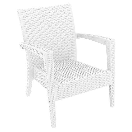 (Compamia Miami Club Chair (Set of 2) - White)