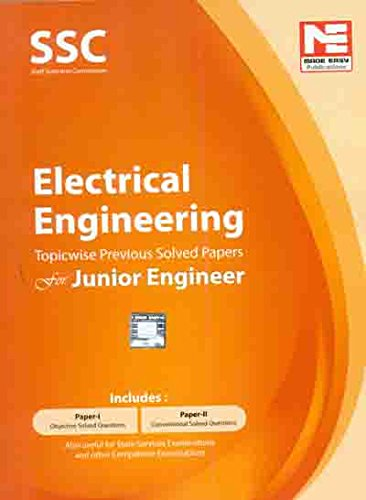 SSC JE: Electrical Engineering - Topicwise Previous Solved Papers