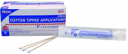 Dukal Cotton Tipped Applicators, 6'', Non-Sterile, 100/bg 10bg/bx 10bx/cs Case Pack 10 by Dukal