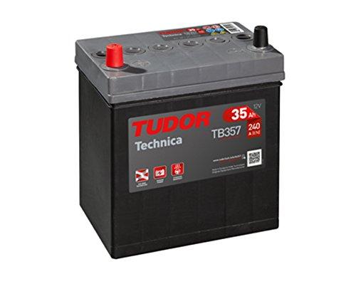 Tudor Exide Technica 35Ah 187 x 127 x 220. 12V Dimensiones