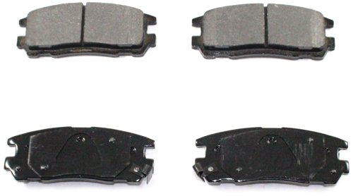 DuraGo BP580 C Rear Ceramic Brake Pad (Trooper Rear Brake Pad)