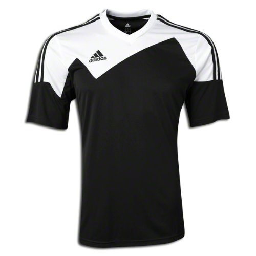 Adidas Toque 13 Mens Short Sleeve Jersey L Black-White