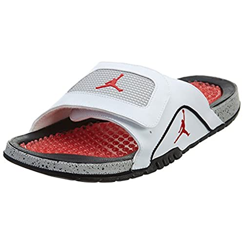 62c52722c8666 Nike Jordan Hydro IV Retro White Black Red 532225-104 best ...