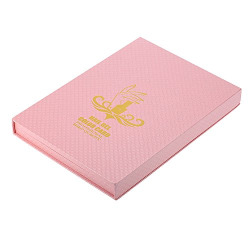 f036949789 Anself Professional 216/120 Colors Nail Gel Polish Display Chart Nail  Polish Color Card with
