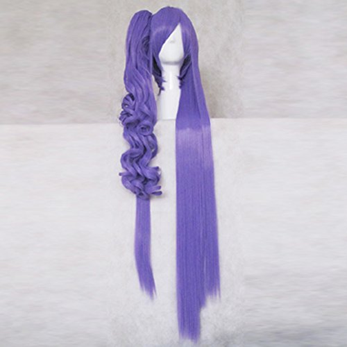 Kamui Gakupo VOCALOID Purple 100cm Long Cosplay Costume Wig + 1 (Gakupo Kamui Cosplay Costume)