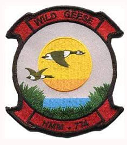 HMM-774 Wild Geese Patch - Plastic Backing