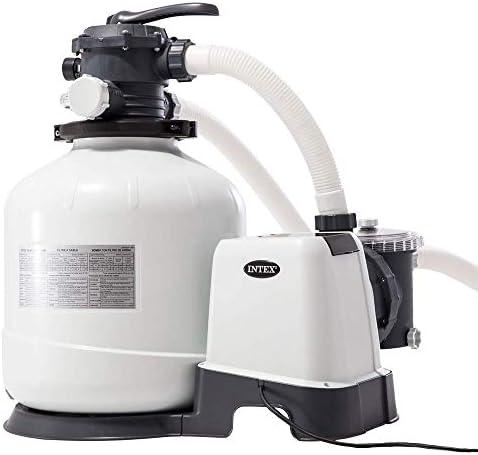 Intex 26652 - Depuradora de arena Krystal Clear 12.000 litros/hora ...